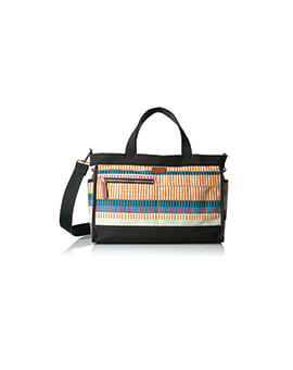 FOSSIL Passport EW Satchel Colorful Stripes