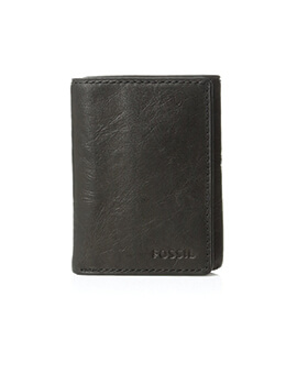 FOSSIL Executive Cap Trifold Brown