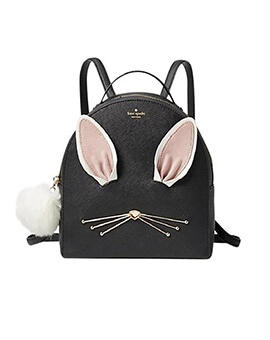 KATE SPADE KS Rabbit Sammi Hop To It Black