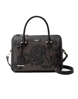 KATE SPADE KS Cameron ST Perforated Large Lane Black