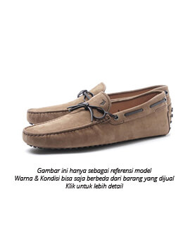 Tods men lacetto gommino size uk 6 with box