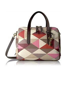 FOSSIL Sydney Satchel Multi Red