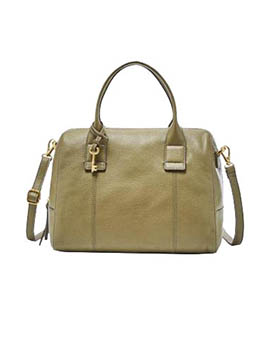FOSSIL Jori Large Satchel Rosemary