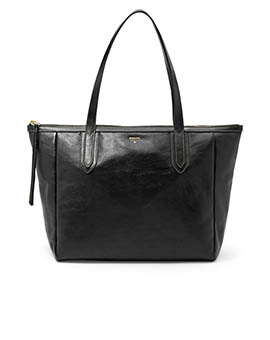 FOSSIL Sydney Shopper Black