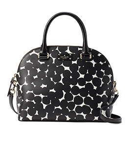 KATE SPADE KS Carli Grove ST Splodge Dot Black / Cream