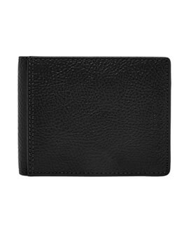 FOSSIL Tyler Int BiFold Black