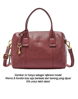 FOSSIL Jori Small Satchel Red Multi