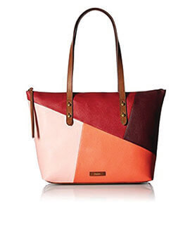 FOSSIL Jayda Tote Red Multi
