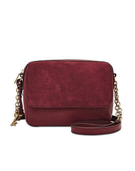 FOSSIL Aria Small Crossbody Carbernet
