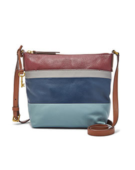 FOSSIL Jori Crossbody Blue Multi