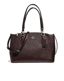 COACH Small Christie Oxblood