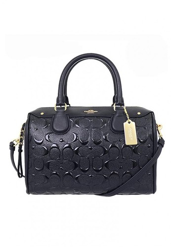 COACH MINI BENNET BLACK SIGNATURE