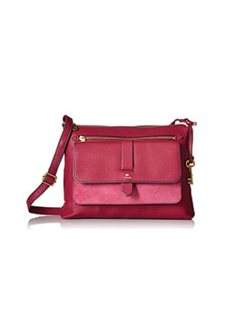 FOSSIL Kinley Large Raspberry
