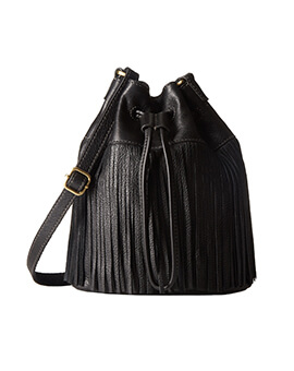 FOSSIL Jules Drawstring Black Small