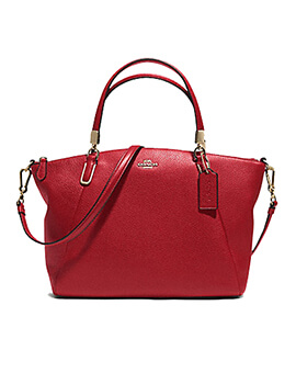 COACH F36675 Small Kelsey True Red