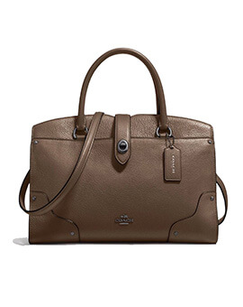 COACH F37575 Grain Mercer 30 Satchel Fatigue