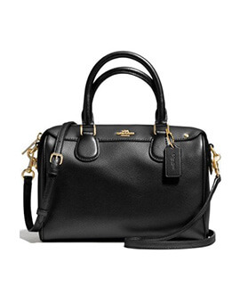 COACH F57252 Mini Bennet Satchel Midnight Navy
