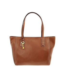 FOSSIL Emma Tote Medium Brown