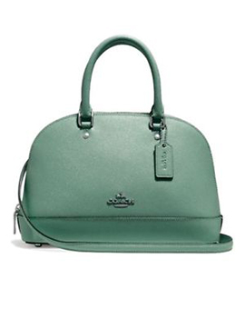 COACH Mini Sierra Leaf Satchel