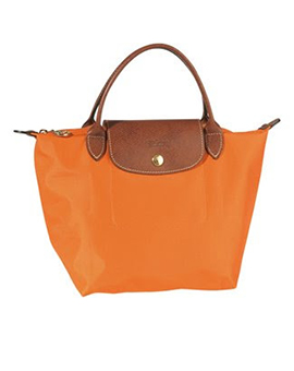 LONGCHAMP LC Short Handle Orange