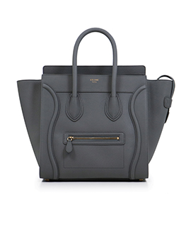 CELINE Nano Grey Grained