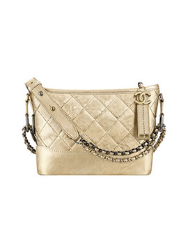 CHANEL Limited Edition: Small Gabrielle Gold