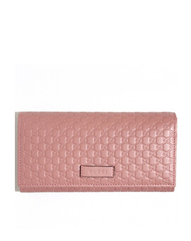 GUCCI Guccisima Wallet On Chain Pink