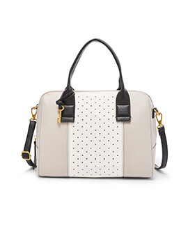 FOSSIL Jori Large White Multi