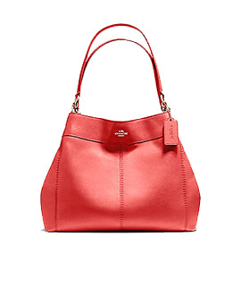 COACH Small Lexy Dark Red