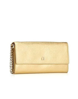 AIGNER Wallet on Chain Gold