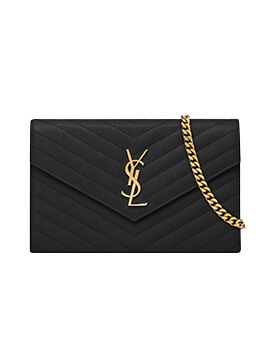 YVES SAINT LAURENT YSL Wallet On Chain WOC GHW