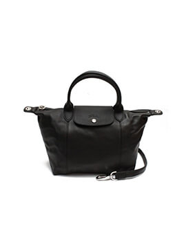 LONGCHAMP LC Cuir Small Black