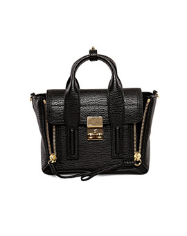PHILIP LIM PL Mini Pashli Black GHW