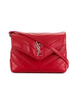 YVES SAINT LAURENT  YSL Toy Loulou Red SHW