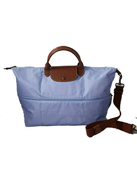 LONGCHAMP LC Travel Expandable Light Blue Brumme