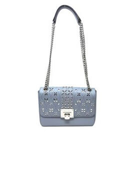 MICHAEL KORS MK Tina Shoulder Flap in Blue