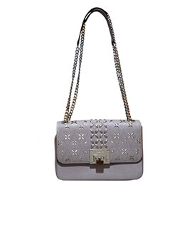 MICHAEL KORS MK Tina Shoulder Flap in Gray