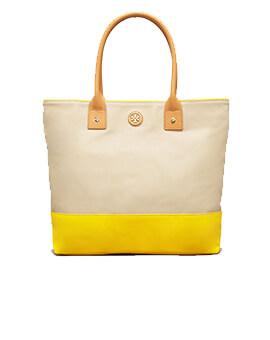 TORY BURCH TB Jaden Pierson Dipped Tote