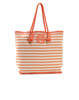 TORY BURCH TB Ovesized Stripe Tote
