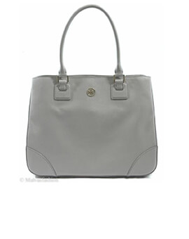 TORY BURCH TB Robinson Mercury Tote Bag