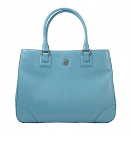 TORY BURCH TB Robinson Morning Sky Tote Bag