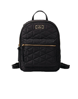 KATE SPADE KS Bradley Small Quilted Black Backpack