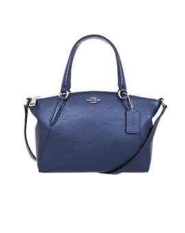 COACH Kelsey Mini Ink Blue