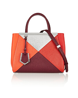 FENDI Mini 2 Jours ColorBlock Limited Edition