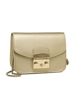 FURLA Mini Metropolis in Gold