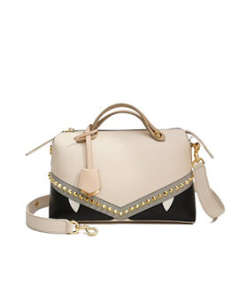 FENDI Small By The Way BTW in Camelia Monster