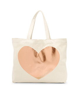 FOSSIL #GirlsCount Tote Bag