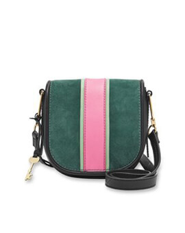 FOSSIL RUMI SMALL ALPINE GREEN