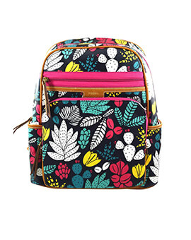 FOSSIL Eliza Backpack Dark Floral