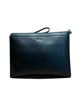 FURLA Tessa X Tea in Black Leather